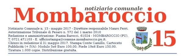 MOMBAROCCIO N° 15, MAGGIO 2017