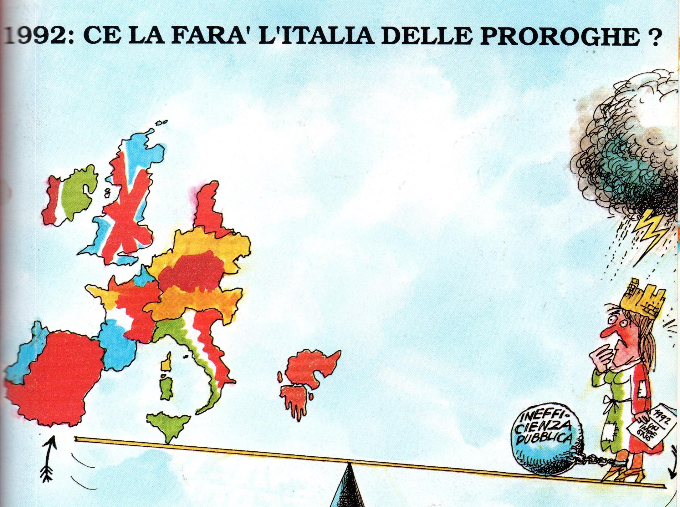 AVINEWS 297: LE PROSPETTIVE DEL 1992 (APERTURA DEL MERCATO UNICO EUROPEO) E LE INCERTEZZE DEI T.O. ITALIANI. E UN RAPPORTO DALLA BORSA TURISTICA SICILIANA