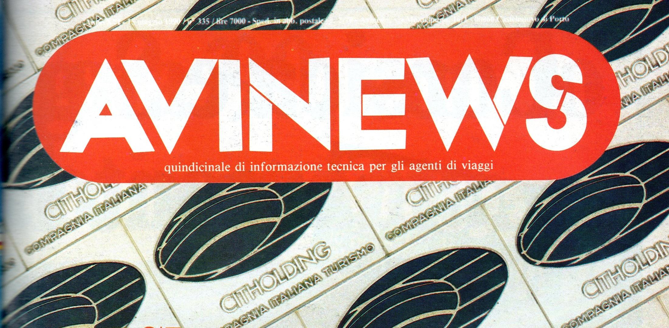 AVINEWS 335: INTERVISTA AL NUOVO PRESIDENTE FIAVET SCANZIANI SUI PROBLEMI DELLA CIT E ULTERIORI RIFLESSIONI SULLA LEGGE QUADRO: DUE PEZZI DA COPERTINA!